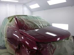 finish dry paint