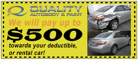 auto body repair coupon