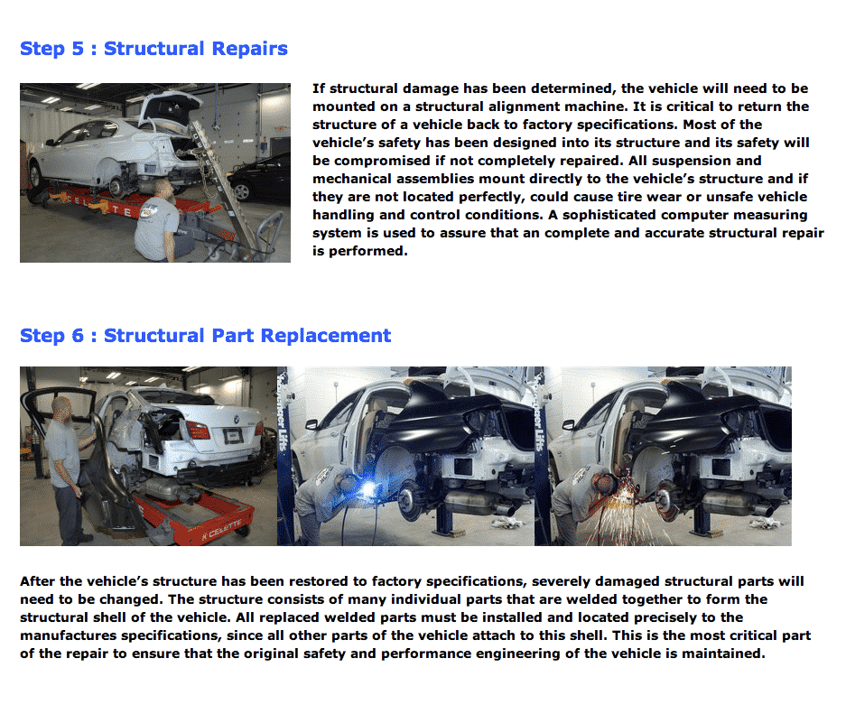 auto body repair process 3