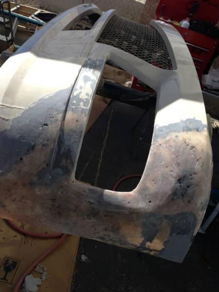 fiberglass pre form