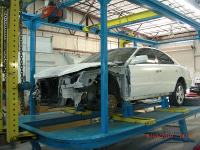 auto body frame repair