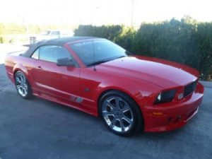 ford mustang after repair