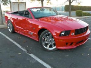 ford mustang before repair