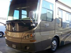 motorhome after repair