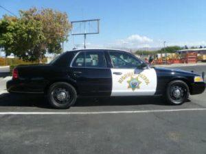 police car collision damage fix