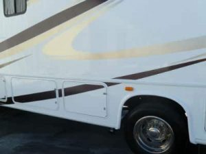 rv side damage finish repair