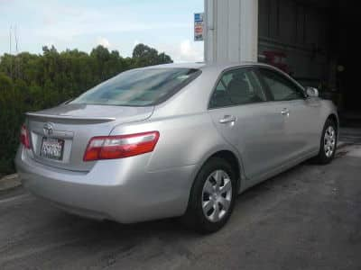 toyota camry after collision repair