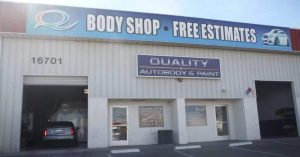 Quality Auto Body & Paint - front of building - hesperia CA 92345